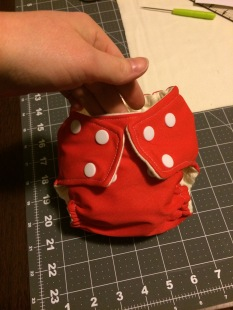 Size small cloth diaper